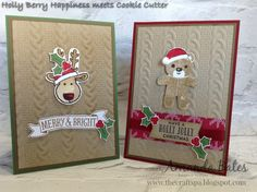 The Craft Spa - Stampin' Up! UK independent demonstrator : A bit of Cookie Cutter Fun!