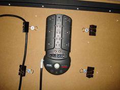 Outstanding under-the-desk computer cable management idea.