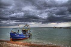 Hastings... // sea. beach. boat.