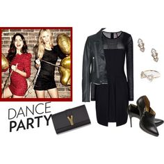 """friday party set"" by kassildah on Polyvore"