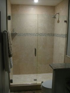 TILE EXAMPLE: Stand up shower                                                                                                                                                                                 More