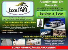 Ecolimps  Higienização e Limpeza  Residencial  Automotiva e Industrial