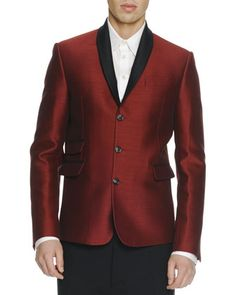 Dsquared2 Shawl-Collar Evening Jacket & Dropped-Inseam Cropped Trousers