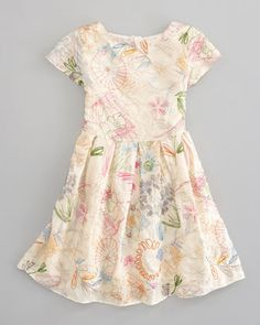 Charabia Embroidered Silk Dress - Neiman Marcus (inspiration only $$$$)