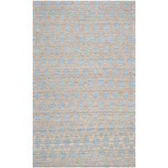Beachcrest Home Meigs Light Blue & Gold Area Rug & Reviews   Wayfair