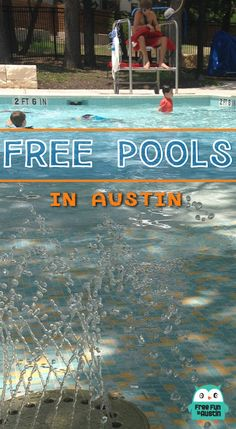 Free Pools in Austin: A Photo Gallery