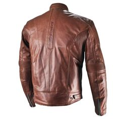 Shima Hunter brown leather motorcycle jacket Brown Leather Motorcycle Jacket, Leather Jacket, Hunter Brown, Riding Gear, Helmet, Jackets, Accessories, Fashion, Leather Jacket Brown