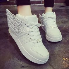 women shoes sport casual hiphop hip-hop zapatillas breathable deportivas mujer sneakers angel's wings new fashion confortable