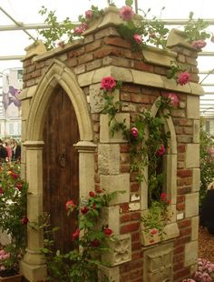 Chelsea Flower Show - Jubilee Tower - a folly made from reclaimed brick and aged stone - handmade in Somerset by Redwood Stone - £4,995 - (A folly is a building constructed primarily for decoration, but suggesting by its appearance some other purpose. Popular in 18th century English & French gardens.