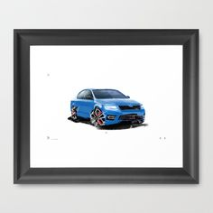 RS Scribbles Framed Art Print