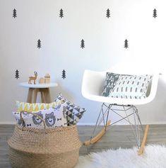 93 mejores imágenes de Decoración paredes de habitaciones infantiles ...