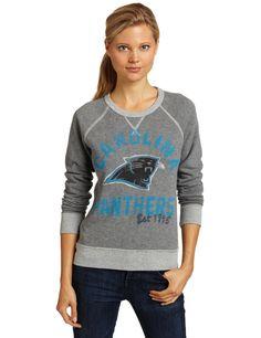 NFL Carolina Panthers Heather Vintage French Terry Raglan Women s 089547bcc
