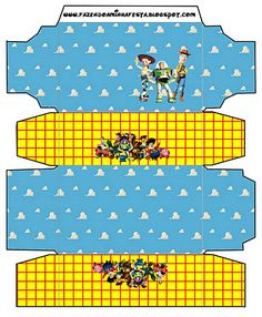 Cajitas imprimibles de Toy Story.