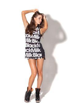 Black Milk Basketball Jersey