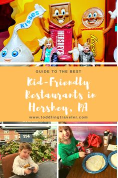 Family-Friendly Guide: Best Restaurants in Hershey, PA - Toddling Traveler Best Family Vacations, Family Destinations, Family Road Trips, Family Travel, Hershey Park, Kid Friendly Restaurants, Travel Usa, Travel Tips, Travel With Kids