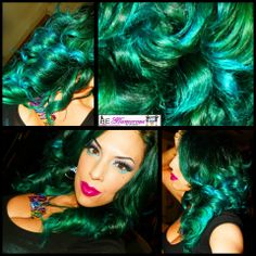 25 Best Green Hair Images