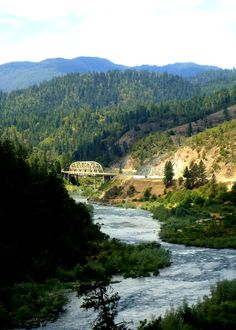 My home- beautiful Southern Oregon This is the Rogue River