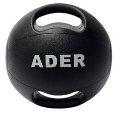 18 lb Double Grip Medicine Ball 18 lb rubber (no sand or water inside). 2 grips for extra control when doing strength & core exercises. For upper body and core strength training. NO shipping to Alaska, Hawaii, or APO/FPO addresses or PO boxes.  #Ader_Sporting_Goods #Sports