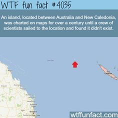 Group of scientists cannot find an island!  -WTF!?! Weird and not-so-fun fact