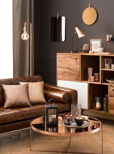 Tendance déco Modern Copper : idée déco et shopping | Maisons du Monde