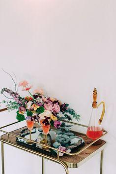 Hailley Howard weddings Wedding Chicks Day of Gal Weddings Gustav Klimt inspired wedding Inspired shoot