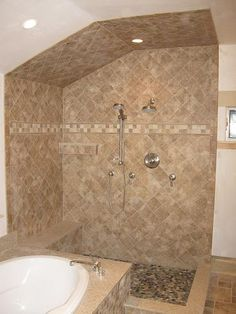 1000 Images About Shower Stall With Seat On Pinterest