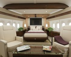 Image result for private jet sleeping quarters