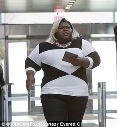 Oscar nominee Gabourey Sidibe (pictured) is also unhappy with her limited storyline on Empire and blames it on Henson favoring Ta'Rhonda Jones, who plays Cookie's assistant Porsha.