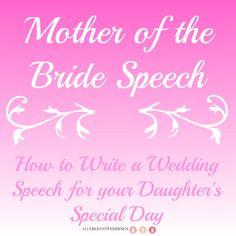Mother of the Bride Speech 2