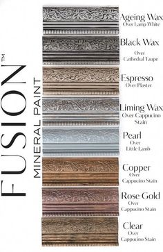 Espresso Furniture Wax - Fusion Mineral Paint - Where to Buy Online - Dear Olympia - Flate Rate US Shipping Chalk Paint Furniture, Cool Furniture, Modern Furniture, Furniture Design, Bedroom Furniture, Furniture Ideas, Metallic Painted Furniture, Furniture Dolly, Furniture Removal