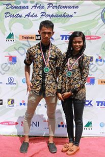 dayak couple. . east kalimantan. .