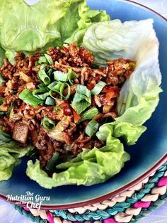 This is a super easy recipe and delightfully versatile. I often cook a double batch and freeze half for later in the week. Or, you can make a double batch and serve in lettuce cups tonight, then us…