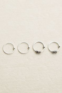 4 Nose Rings | Tree of Life