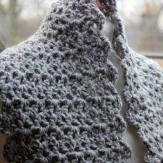 Double Length Cowl pattern by Abby Parkes Tunisian Crochet, Knit Crochet, Crochet Hats, Snood Scarf, Hooded Scarf, Crochet Designs, Crochet Patterns, Boot Cuffs, Yarn Projects
