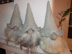 tovet nisse oppskrift - Google Search Advent, Christmas, How To Make, Google Search, Gnomes, Elves, Craft, Xmas, Weihnachten