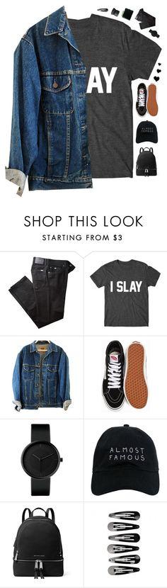 """Slay"" by genesis129 ❤ liked on Polyvore featuring BRAX, Vans, Nasaseasons, MICHAEL Michael Kors and NARS Cosmetics"