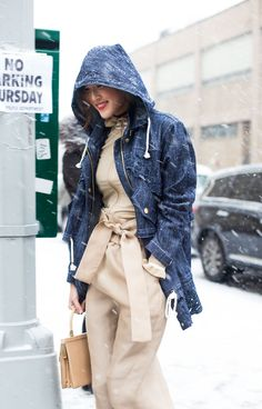 Street Style from New York Fashion Week Fall 2016 | StyleCaster