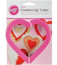 Wilton Comfort-Grip Cookie Cutter-Heart at Joann.Com $3