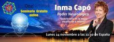 Lunes 24 de noviembre a las 22,30 horas de España [FORMACION Online] Conviertete en la mejor version de ti mismo, con Inma Capo https://www.facebook.com/events/801358523257674/ #motivacion #exito #superacion