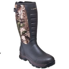LaCrosse Boots: Men's 376103 Brown/Camo Waterproof Insulated 16-Inch Hunting…
