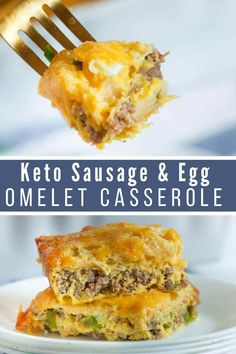 Keto Sausage & Egg Casserole Omelet is an easy and satisfying breakfast that can be made ahead for convenience. Keto Sausage & Egg Casserole Omelet is an easy and satisfying breakfast that can be made ahead for convenience. Sausage Egg Casserole, Breakfast Casserole Easy, Sausage And Egg, Breakfast Recipes, Breakfast Ideas, Diet Breakfast, Breakfast Pancakes, Breakfast Gravy, Diabetic Breakfast