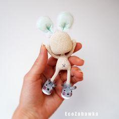 EcoZabawka.etsy.com Рождение Куколки - Зайки)