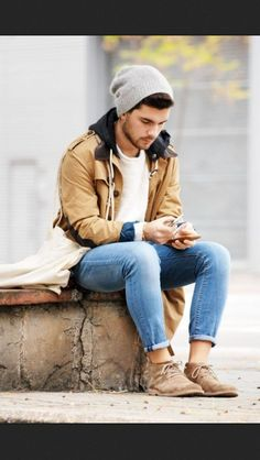 Men's winter street style                                                                                                                                                                                 More