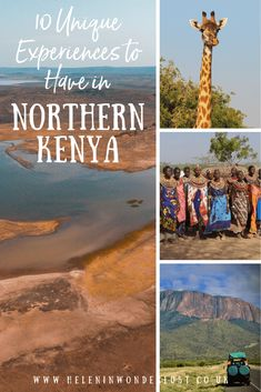 Kenya is an incredible place, full of places for off-the-beaten-path adventures. Here are a few of my favourite things to do in Northern Kenya, including Lake Turkana! Places To Travel, Places To Visit, Elephant Sanctuary, Rock Pools, East Africa, Africa Travel, Rafting, Kenya, Adventure Travel