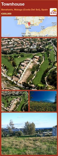 Townhouse for Sale in Benahavis, Malaga (Costa Del Sol), Spain - A Spanish Life Murcia, Detached House, Townhouse, Golf Courses, Spanish, Building, Life, Outdoor, Sun