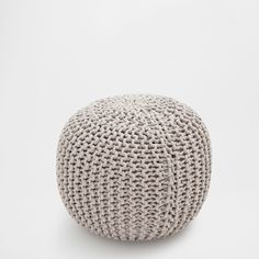 ROUND BRAIDED POUFFE - Occasional Furniture - Decoration | Zara Home Hungary