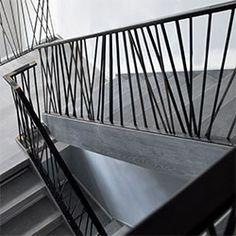 Elegant Iron Studios | Custom Ornamental Metalwork | Modern Railing and Stairs…