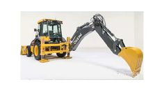 Adds to the 315SL with Euro-style side-shifting backhoe (13-ft. 8-in. dig depth) to the new 6-model L-Series backhoe loaders