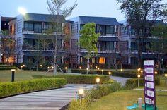 Heritage hotel and villages in Bangsaen Thailand