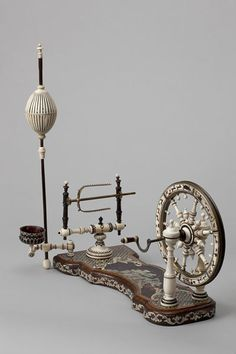 Spinning wheel, ca. 1740 | Piffetti, Pietro | V&A Search the Collections
